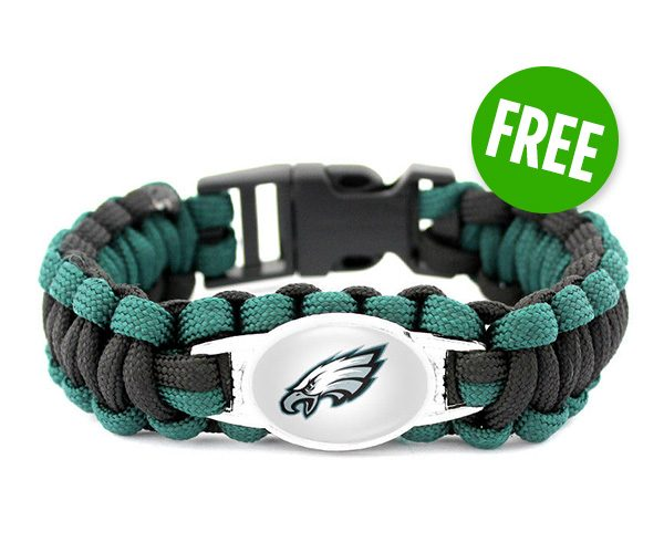 Eagles Paracord Bracelet | NFL Sale