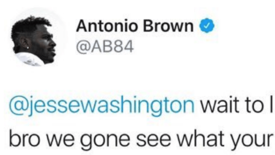 Antonio Brown Apologizes For Threatening Reporter S Jaw In